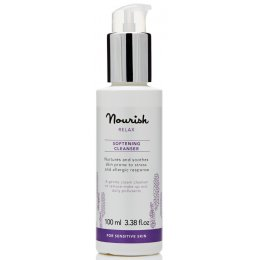 Nourish London Relax Softening Lavender Cleanser 100ml