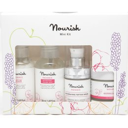 Nourish London Radiance Purifying Rose Starter Collection