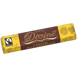 Divine Caramel Milk Chocolate - 40g