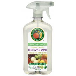 Earth Friendly Fruit & Vegetable Wash - 500ml
