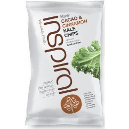 Inspiral Kale Chips Cacao 30g test