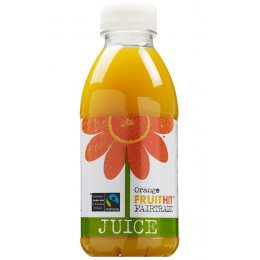 Fruit Hit Fairtrade Orange Juice - 500ml