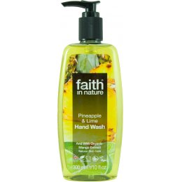 Faith in Nature Hand Wash - Pineapple & Lime - 300ml