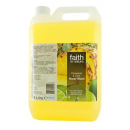 Faith in Nature Hand Wash - Pineapple & Lime - 5 Litres