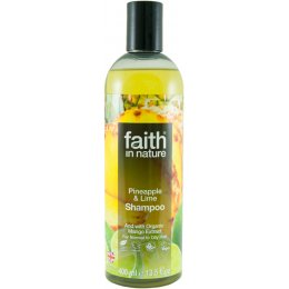Faith in Nature Shampoo - Pineapple & Lime - 400ml