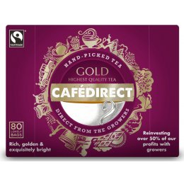 Cafedirect Gold Tea - 80 Bags