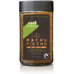 Cafedirect Fairtrade Machu Picchu Instant Coffee - 100g