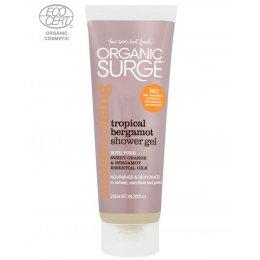 Organic Surge Shower Gel - Tropical Bergamot - 250ml test