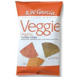 RW Garcia Corn Tortilla Veggie Chips - 200g test
