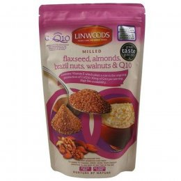 Linwoods Milled Flaxseed, Nuts & Co-enzyme Q10 - 360g