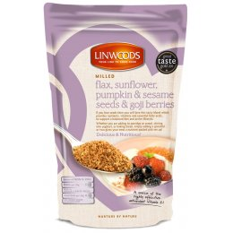 Linwoods Milled Flaxseed, Seeds & Goji Berries - 425g