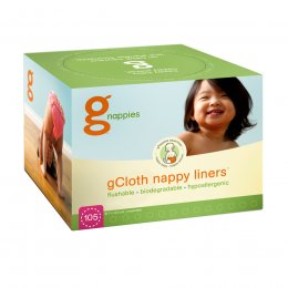gNappies Flushable Liners for washable inserts - Pack of 98