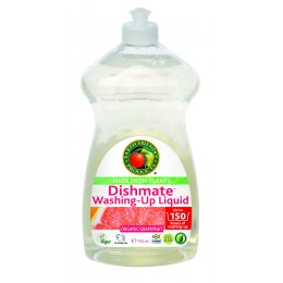 Earth Friendly Dishmate Washing up Liquid - Grapefruit - 750ml