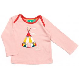 Applique Baby Tees - Pink Teepee test
