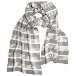 Komodo Large Gracello Striped Wool Scarf test