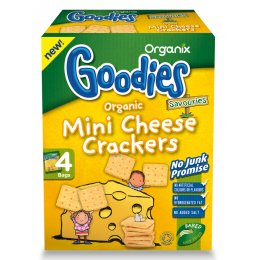 Organix Mini Cheese Crackers - 20g