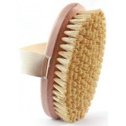Natural Sisal Massage Hand Brush test