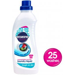Ecozone Non-Bio Concentrated laundry liquid - 1L/25 washes