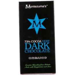 Montezumas Organic 73 percent  Cocoa Very Dark Chocolate - 100g