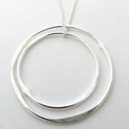 La Jewellery Recycled Solstice Silver Necklace test