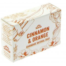 Suma Handmade Natural Soap - Cinnamon & Orange - 95g