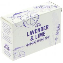 Suma Handmade Natural Soap - Lavender & Lime - 95g
