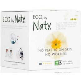 Naty by Nature Womencare Sanitary Towel - Super - Pack of 13