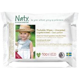 Naty Family Flushable Wipes test