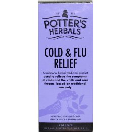 Potters Herbals Cold and Flu Relief