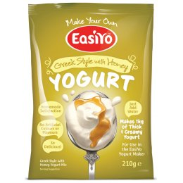 EasiYo Greek & Honey Yoghurt - 210g