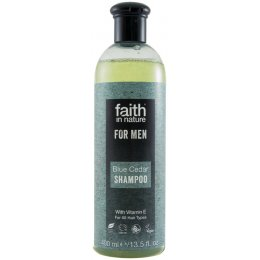 Faith In Nature Mens Blue Cedar Shampoo - 400ml test
