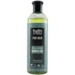 Faith In Nature Mens Blue Cedar Shower Gel - 400ml test