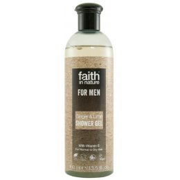 Faith In Nature Mens Ginger & Lime Shower Gel - 400ml test