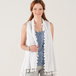 Nomads 2 In 1 Waterfall Waistcoat & Scarf test