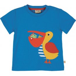 Frugi Pelican Applique T-Shirt