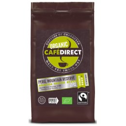 Cafedirect Fair Trade Organics Whole Beans - Peru - 227g