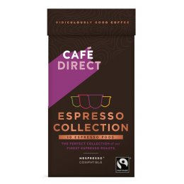 Cafedirect Explorers Coffee Collection Spirit Coffee Pod - Pack Of 10