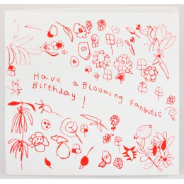 Arthouse Meath Charity Blooming Fantastic Birthday Card