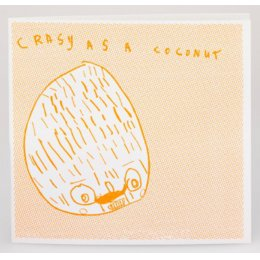 Arthouse Meath Charity Crazy as a Coconut Birthday Card