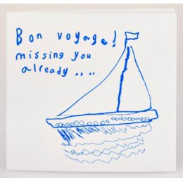 Arthouse Meath Charity Bon Voyage Card