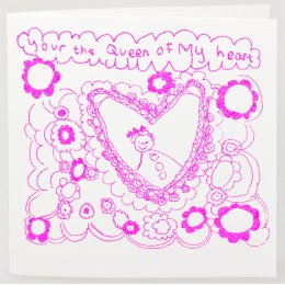 Arthouse Meath Charity Queen of My Heart Card test