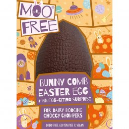 Moo Free Dairy Free Bunnycomb Chocolate Easter Egg - 95g