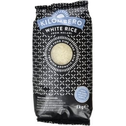 Kilombero Long Grain Aromatic White Rice - 1kg