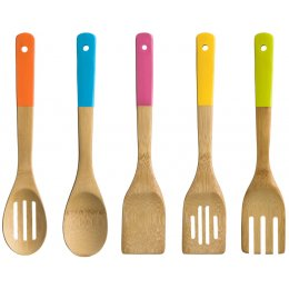 5pc Bamboo Kitchen Utensil Set