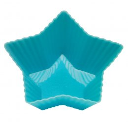 Reusable Star Cupcake Moulds pack of 4 test
