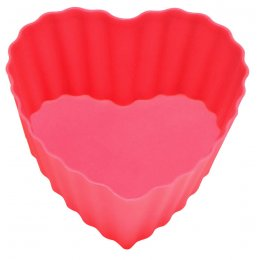 Reusable Heart Cupcake Moulds pack of 4 test