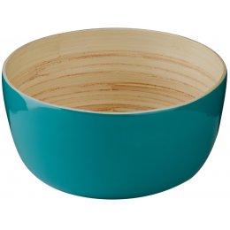 Kyoto Bamboo Salad Bowl - Turquoise test