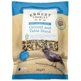 Ernest Charles Ground and Table Blend Bird Feed - 2Kg