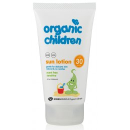 Green People Childrens Scent-Free Sensitive Sun Lotion SPF30 - 150ml