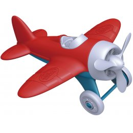 Green Toys Recycled Aeroplane with Red Wings